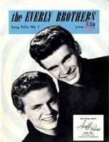 Everly Brothers,The - Songbook - Song Folio No. 1 - USA 1959 Original