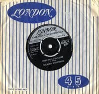 Everly Brothers,The - When Will I Be Loved/Be Bop A Lula (HLA 9157) Ex