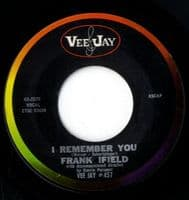 Frank Ifield - I Remember You/I Listen To My Heart (2579)M-