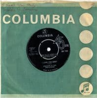 Freddie & The Dreamers - I Love You Baby/Don't Make Me Cry (DB 7286)