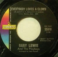 Gary Lewis & The Playboys - Everybody Loves A Clown/Time Stands Still (55818)