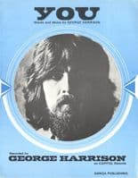 George Harrison - Sheet Music - You - 4 Page Booklet