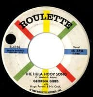Georgia Gibbs - The Hula Hoop Song/Keep In Touch (R-4106)