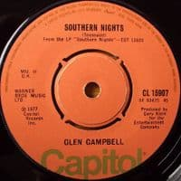 Glen Campbell - Southern Nights/William Tell Overture (CL 15907) M-