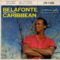 Harry Belafonte - Sings Of The Caribbean (EPA 1-1505)