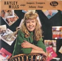 Hayley Mills- Jeepers Creepers/Johnny Jingo (F-395) M-/M-