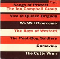 Ian Campbell Group,The - Songs Of Protest (Topic TOP 82) M-/M-
