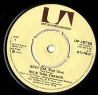 Ike And Tina Turner - Sexy Ida Parts One and Two (UP 35726) M-
