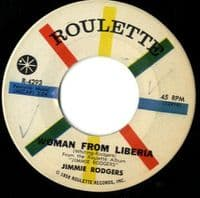 Jimmie Rodgers - Woman From Liberia/Come Along Julie (R 4293)