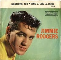 Jimmie Rodgers - Wonderful You/Ring-A-Ling-A-Lario (R 4158)