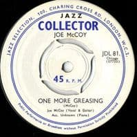 Joe McCoy - One More Greasing/One In A Hundred (JDL 810