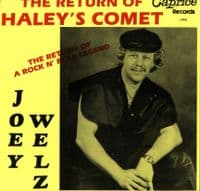 Joey Welz - The Return Of Haley's Comets (C.I. R 1986) With Photos & Press Release M-/M-