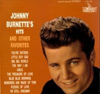 Johnny Burnette - Hits And Other Favorites (LST 7206) 20 Track Re-Issue
