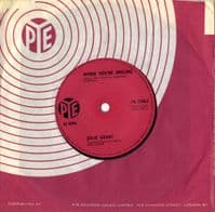 Julie Grant - When You're Smiling/Lonely Sixteen (7N 15461) Solid Centre