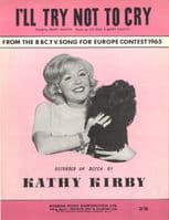 Kathy Kirby - I'll Try Not To Cry