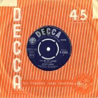 Kathy Kirby - Let Me Go,Lover/The Sweetest Sounds (F 11832)