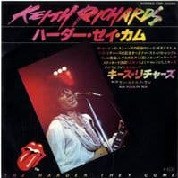 Keith Richards - Japan - The Harder They Come/Run Rudolph Run (ESR 20560)