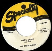 Metronomes,The - She's Gone/That's Bad (472) M-