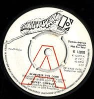 Mickey Newbury - Remember The Good/How I Love Them Old Songs (K 12070) Demo M-