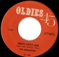 Monarchs - Pretty Little Girl - Priscilla Bowman and Jay McShan - Don't Need Your Lovin' (OL 106)