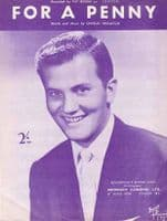 Pat Boone - For A Penny