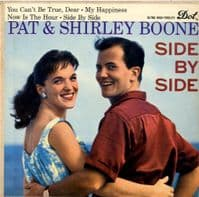 Pat & Shirley Boone - Side By Side (DEP 1076)