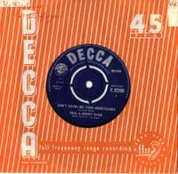 Paul & Barry Ryan - Don't Bring Me Your Heartaches/To Remind Me Of Your Love (F 12260)