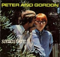 Peter and Gordon - Somewhere - If I Fell - High Noon (SX 6097)