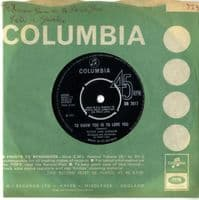 Peter And Gordon - To Know You Is To Love You/I Told You So (DB 7617)
