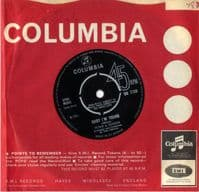 Peter & Gordon - Baby I'm Yours/When The Black Of Your Eyes Turn To Grey (DB 7729) M-