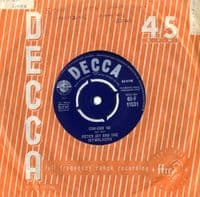 Peter Jay And The Jaywalkers - Can-Can '62/Redskins (F 11531)