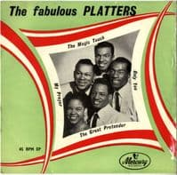 Platters,The - Fabulous - Only You - The Great Pretender (MEP 9504)