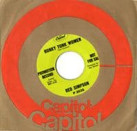 Red Simpson - Honky Tonk Women/He Reminds Me A Whole Lot Of Me (57637) Promo