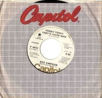 Red Simpson - Honky Tonky Ladys Lover Man/Yip-Yip (P 3872) Promo - M-