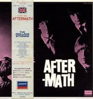 Rolling Stones,The - Japan - Aftermath (L20P 1016) - 4 Page Booklet - O.B.I.