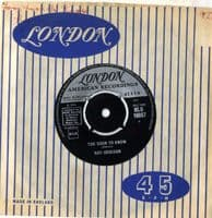 Roy Orbison - Too Soon To Know/You'll Never Be Sixteen Again (HLU 10067) M-