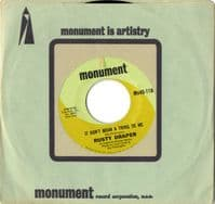 Rusty Draper - It Don't Mean A Thing To Me/Two Little Boys (Mn45-118) M-