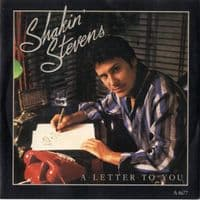 Shakin' Stevens - A Letter To You/Come Back And Love Me (A 4677) Ex/M-