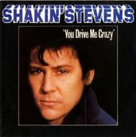 Shakin' Stevens - You Drive Me Crazy/Baby You're A Child (A 1165) M-/M
