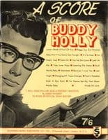 Songbook - Buddy Holly - A Score Of Buddy Holly (1963 Original) Ex