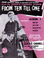 Songbook - Ronnie Carroll - From Ten Till One