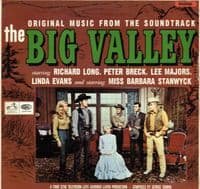 The Big Valley - Original Music From The Soundtrack - George Duning (HMV CLP 3510)