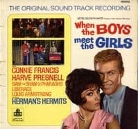 Various - When The Boys Meet The Girls (C 8006) Soundtrack - Connie Francis - Herman's Hermits